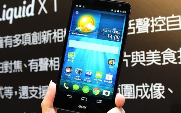 Acer Liquid X1, Smartphone Octa Core Tangguh Harga 3 Jutaan