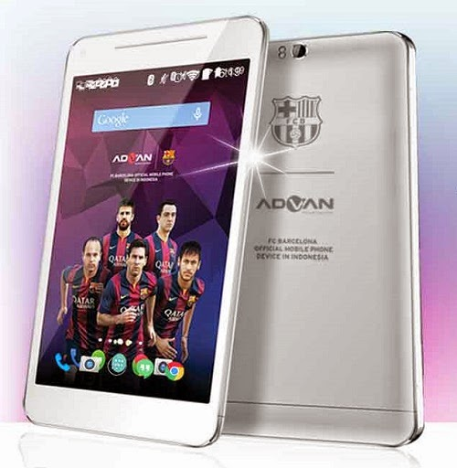 Advan Barca Tab T1X, Tablet Ciamik Bertenaga Octa Core