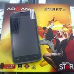 Advan Star Fit S45A, HP Dual Core Android KitKat Harga 900 Ribuan
