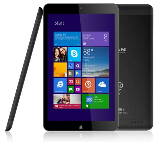 Advan Vanbook W80, Tablet Windows 8.1 Canggih Harga 2 Jutaan