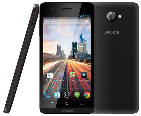 Archos 45B Helium 4G, Ponsel 4G LTE Murah CPU Quad Core