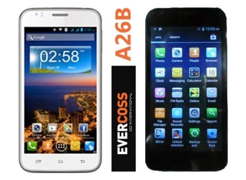 Evercoss A26B, HP Android Murah Berkualitas Harga 1 Jutaan