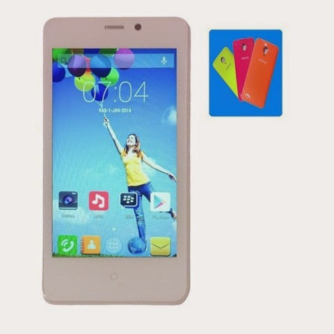 Evercoss A74D, HP Quad Core Kamera 5 MP Harga 700 Ribu