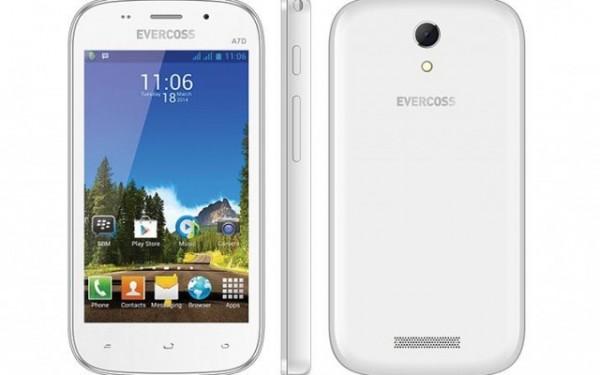 Evercoss A7D, Andalkan Layar 4 Inci Dual Core Harga 700 Ribuan