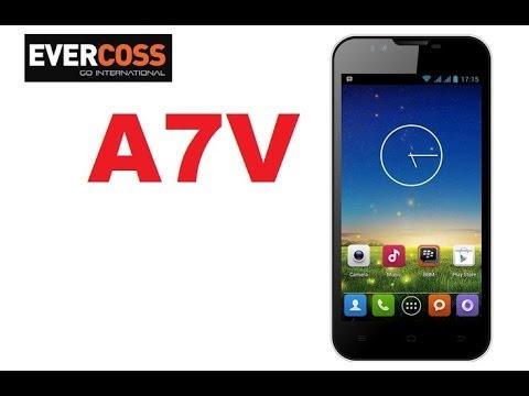 Evercoss A7V, Harga 1.6 Juta Siap Cegat Advan S4D GAIA