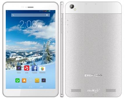 Evercoss Elevate Tab V, Tablet Multi User Kamera 5 MP