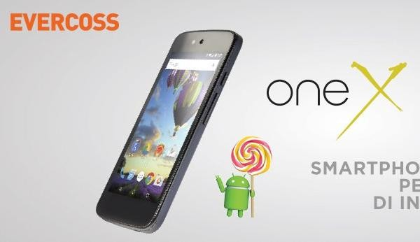 Evercoss One X, Ponsel Android One Harga Pre Order 999 Ribu