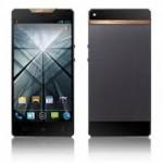 Gresso Regal Black Edition, Smartphone Android Mewah Berlapis Emas
