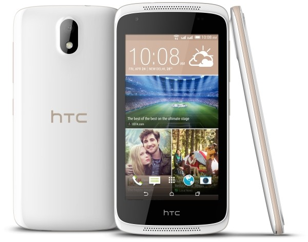 HTC Desire 326G, Usung CPU Quad Core dan Kamera 8 MP
