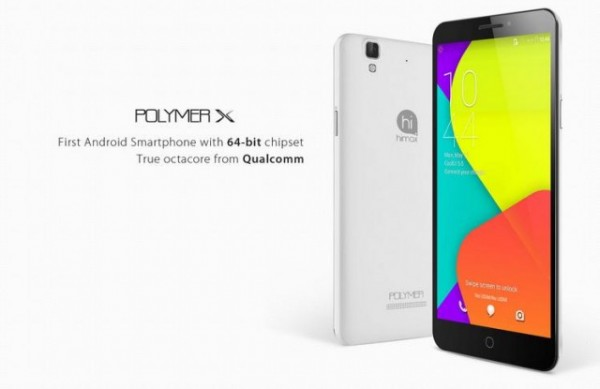 Himax Polymer X Spesifikasi, Android Canggih CPU Octa Core 64 bit