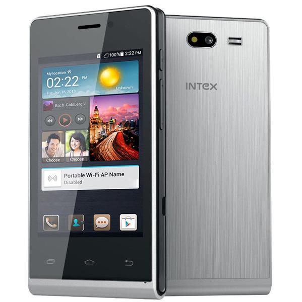 Intex Aqua V4, Ponsel Low End Android KitKat Harga 500 Ribuan
