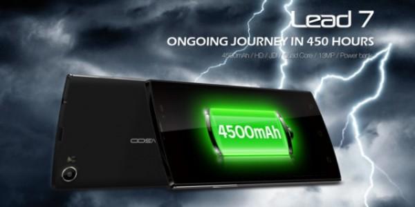 Leagoo Lead 7 Spesifikasi, CPU Quad Core Baterai 4500mAh 1,6 Juta