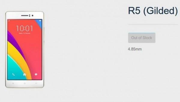 Oppo R5 Gilded Edition, HP Octa Core 4G LTE Harga 6,5 Juta