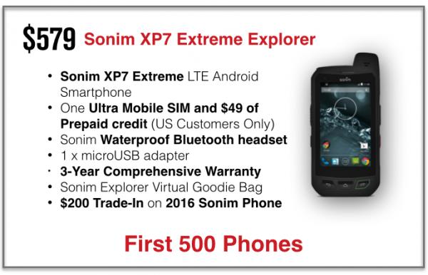 Sonim XP7 Extreme, Ponsel Paling Tangguh di Dunia Usung Jaringan LTE