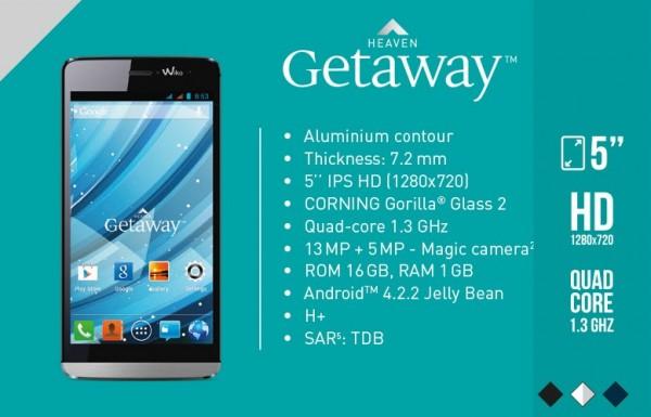 Wiko Getaway, Smartphone KitKat Kamera 13 MP Harga 1,8 Juta