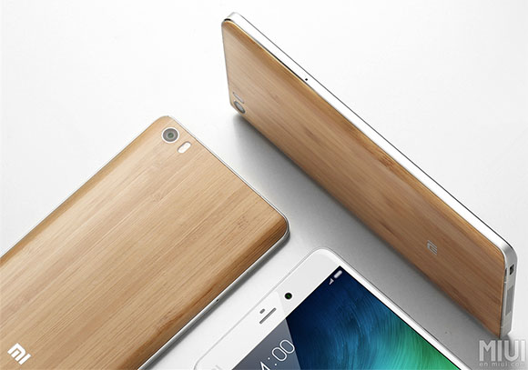 Xiaomi Mi Note Natural Bamboo Edition, Bawa Casing Bambu Unik