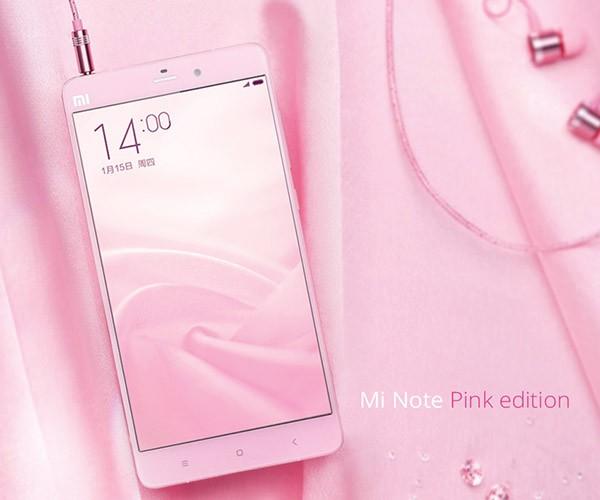 Xiaomi Mi Note Pink Edition, Phablet Khusus Kaum Hawa Dirilis